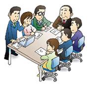 サービス担当者会議でケアプランを作成