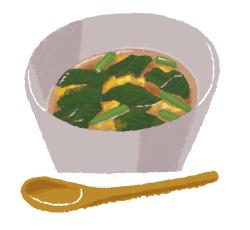 夏を乗り切るねばねばレシピ1:モロヘイヤの和風スープ