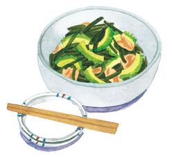 海藻を使った夏バテ対策レシピ2:こんぶの炒め煮