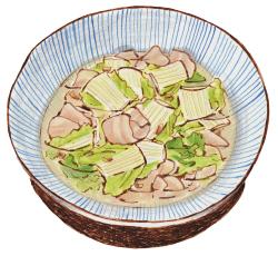豚バラと白菜のトロトロ煮