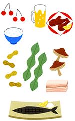 主な食品表